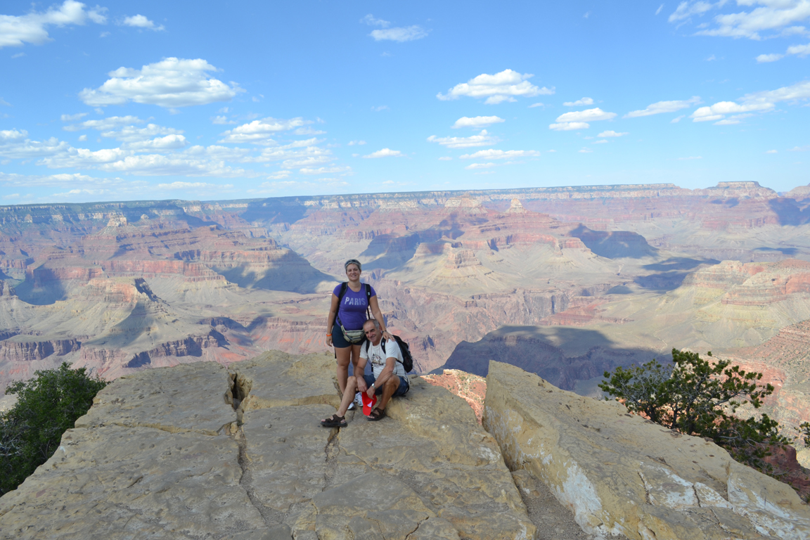 Eccoci al Grand Canyon