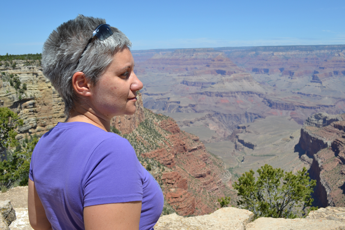 Io al Grand Canyon