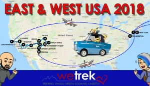 East & West USA 2018 - Itinerario